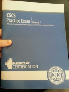 CSCS Practice Exams - No longer available in paper format. Instead you can buy $500 worth of online study material!